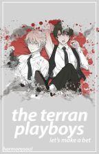 The Terran Playboys: Slaine x Reader x Inaho (Aldnoah.Zero Fanfiction) by HarmonySoul