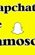 Snapchat De Famosos❤ by SydneyMota_