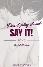Say it! [Ereri,SK] by BobaHeichou