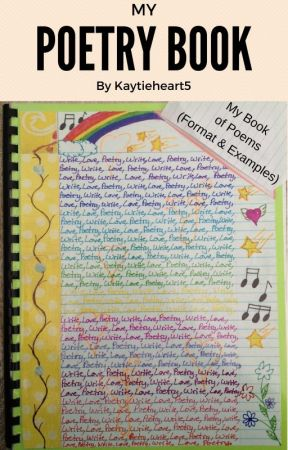 My Poetry Book A B C Poetry Wattpad