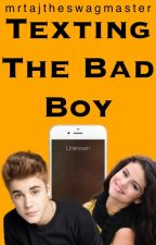 Texting The Bad Boy || Jelena by -lattecity