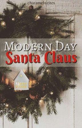 Modern Day Santa Claus by charamelwrites