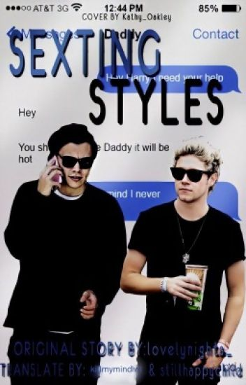 Sexting Styles//Narry Storan (SK translate)