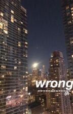 Wrong ~ Lee Jihoon by hamsol