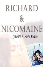 Richard and Nicomaine (Behind-the-Scenes) by luckyladyK3U