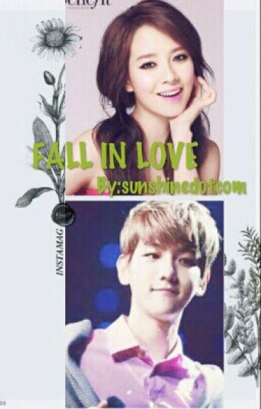 fall in love (jihyo,baekhyun)