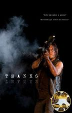 Thanks [Daryl Dixon; The Walking Dead] #PTWD2016 by Irisacber