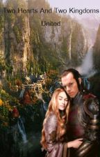 Two Hearts and Two Kingdoms United (Elrond + Celebrian) by l-e-g-o-l-a-s