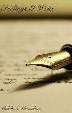 Feelings I Write by CalebNGonsalves
