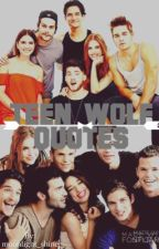 Teen Wolf Quotes by moonlight_shine