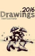 Drawings 2016 by -TheOtakuNerd-