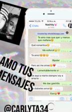 Amo tus mensajes(Nash grier) by carlyta34