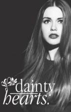 Dainty Hearts by owlsarelovely