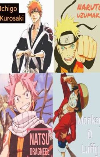 Worlds Colliding together (a Bleach/OnePiece/Naruto
