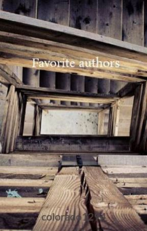 Favorite authors by colorado1294
