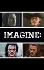 Luke Evans Imagines by Aidanturnerimagines
