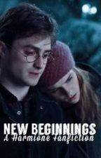 New Beginnings • A Harmione Fanfiction by bellafey
