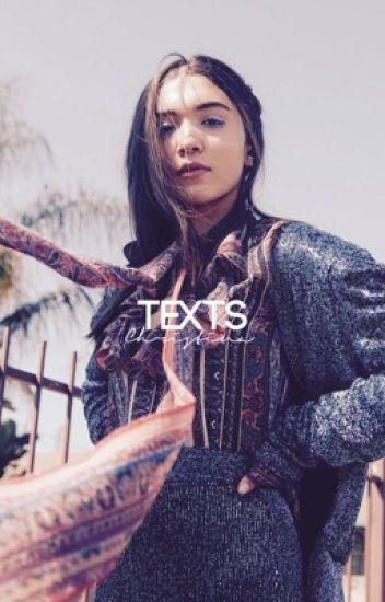 TEXTS ✉️❄️ [RM + MH] [RM + LF] [ON HOLD]