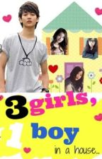 3 Girls, 1 Boy in a house by sweetsadgirl