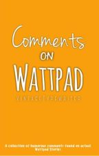 Comments on Wattpad by VintageTypewriter