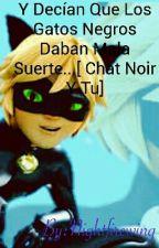 Y Decían Que Los Gatos Negros Daban Mala Suerte...[ Chat Noir Y Tu] by Nightfirewing