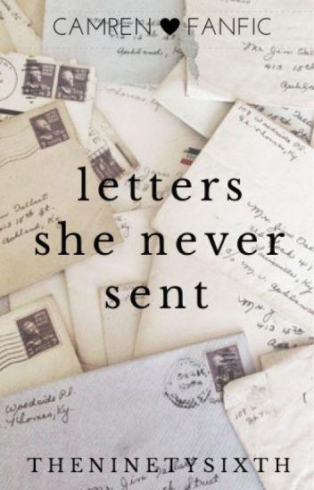 """Letters she never sent"""