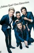¿Sabias Que? One Direction! by Kellylunar1DJB