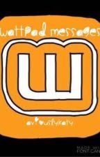 Wattpad Messages // kavi by aviouslykaty