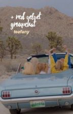 red velvet group chat by tea-fany