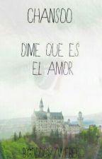 Chansoo - Dime que es el amor. by Dodo177weber