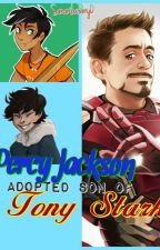 Percy Jackson Adoptive Son of Tony Stark by SamanthaPerry0