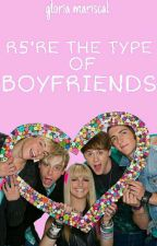 R5're the type of boyfriends ; R5 by GloriaMariscal