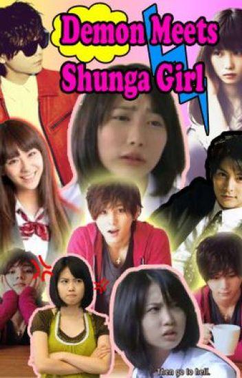 Demon Meets Shunga Girl
