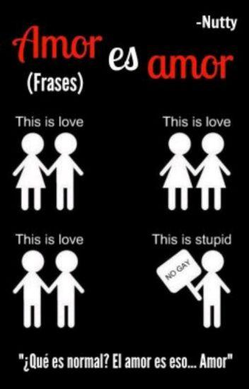 Amor es amor (frases)