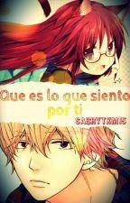 Que es lo que siento por ti (Kyouya Sata x Lector) by SabryTKM15