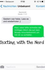Texting with the Nerd by EviilSadness