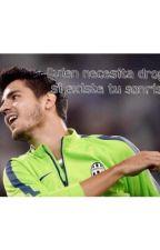 Quien necesita drogas si existe tu sonrisa? ~Alvaro Morata by moratasWifeHere