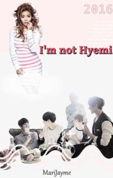 I'm not Hyemi.