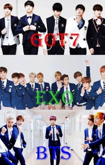 [Exo] [Bts] [Got7]Hôn Ước Với Vampire