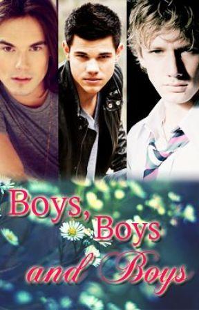 Boys, boys and boys. by ilsegreto