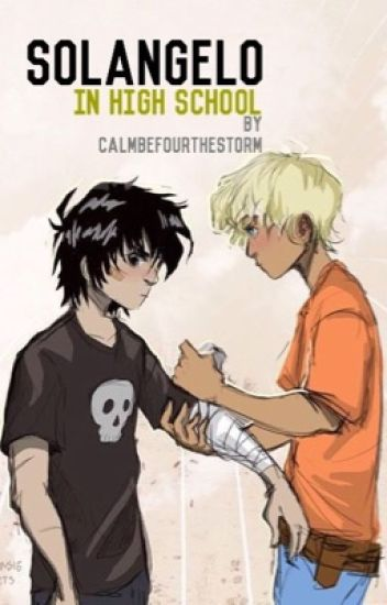 Solangelo in High School