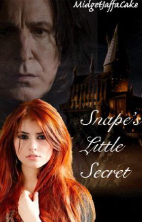 Snape's Little Secret by MidgetJaffaCake
