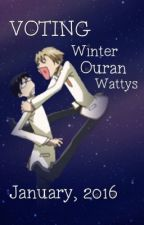VOTING: Winter Ouran Wattys 2016 by OuranWattys