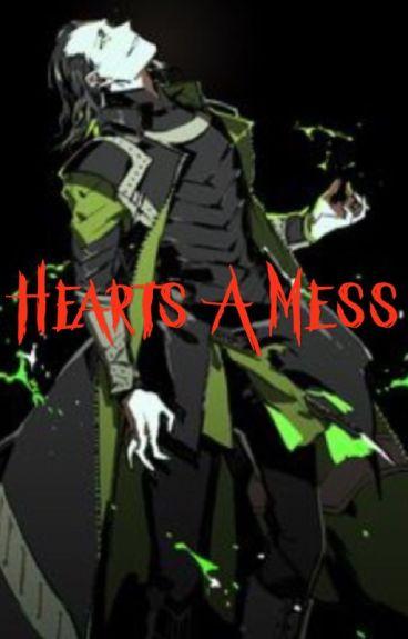 Loki x male half demon reader - Hearts a mess