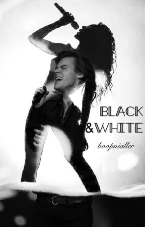 black & white // harry styles  by boophes