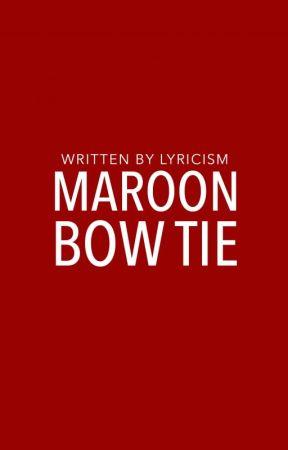 Maroon Bow Tie | ✔️ by lyricism