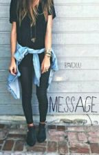 Message. ✉ || h.s by vicxuu