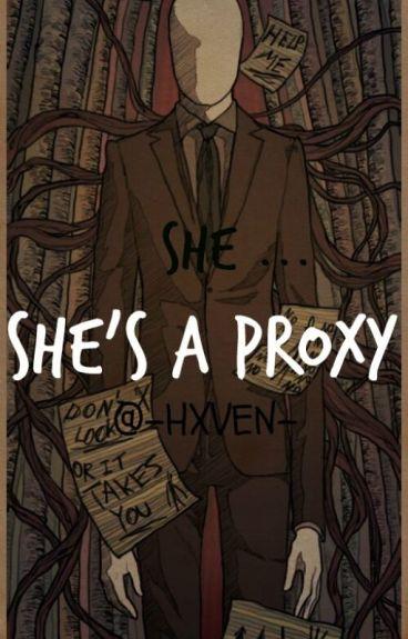 ↠ She ... she's a proxy┃Hoodie ↞