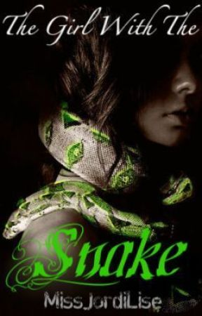 The Girl With The Snake by CurlyFry_xoxo