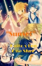 """Sunset"" Kaito x Len One Shot by IsaAOS"